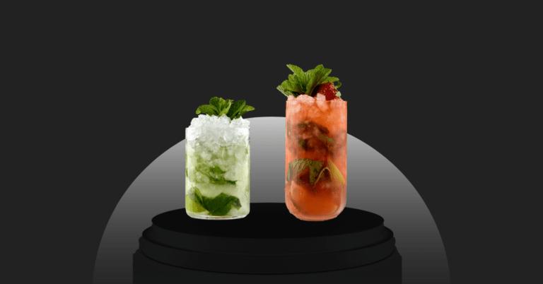 strawberry mojito vs mojito